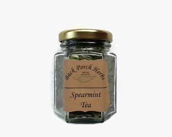 Herbal Spearmint Tea in Jars - Great For Gifts