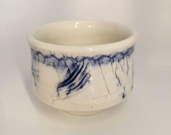 Cobalt decorated tea cup.