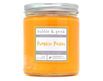 Pumpkin Pasties Scented Soy Candle - 8 oz. jar - Pumpkin Pie