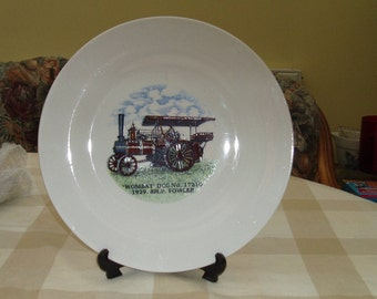 Decorative Steam Engine Plate