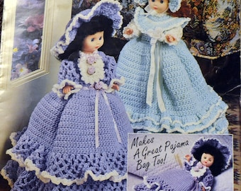 Dolly Doorstops and Pajama Bags Crochet Patterns Annie's Attic