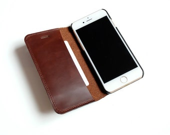 iPhone 7 wallet case, iPhone 7 case, iPhone 7 leather case, iPhone 7 leather wallet, iPhone 7 leather wallet case, color brown