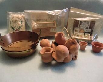Sale!!! Dollhouse Gardening Items LOTS