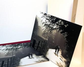 Morning Walk - Lake District Series - Greeting Card incl. red envelope (blank inside)
