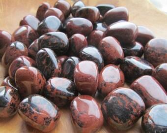 Mahogany Obsidian Medium Tumbled Stone