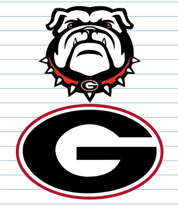 georgia bulldogs georgia bulldogs svg georgia bulldogs rh etsy com georgia bulldog mascot clipart georgia bulldog clipart black and white