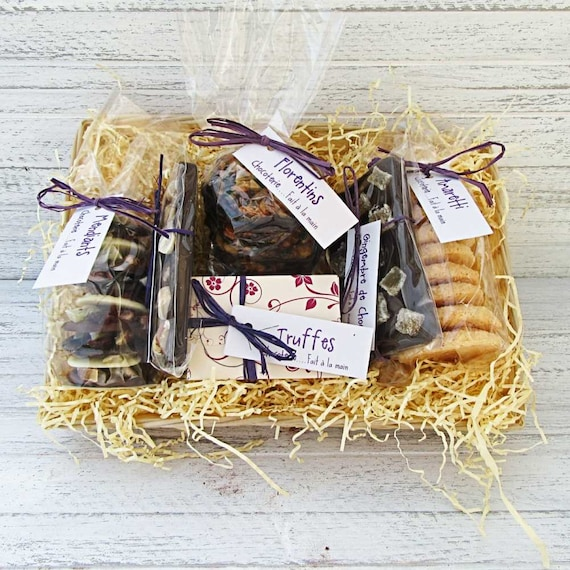 Luxury gift basket gluten free with dark chocolate truffles luxury gift basket gluten free with dark chocolate truffles mothers day birthday gift idea negle Gallery