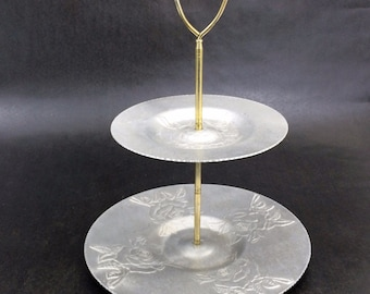 2 Tier Cake Stand Etsy