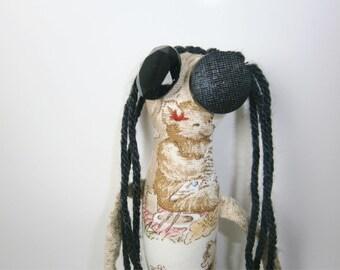 Stephanie - ooak Skaerrenvolk cloth art doll