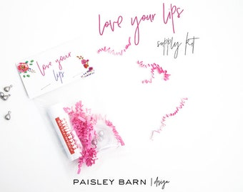 Love Your Lips Lip Gift Giving Kit |Spring, Skincare, Rodan+Fields, gift, teacher, friend, co-worker, chapstick, lip balm, customer, floral