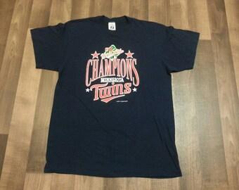 1987 Minnesota Twins World Series Champs shirt!