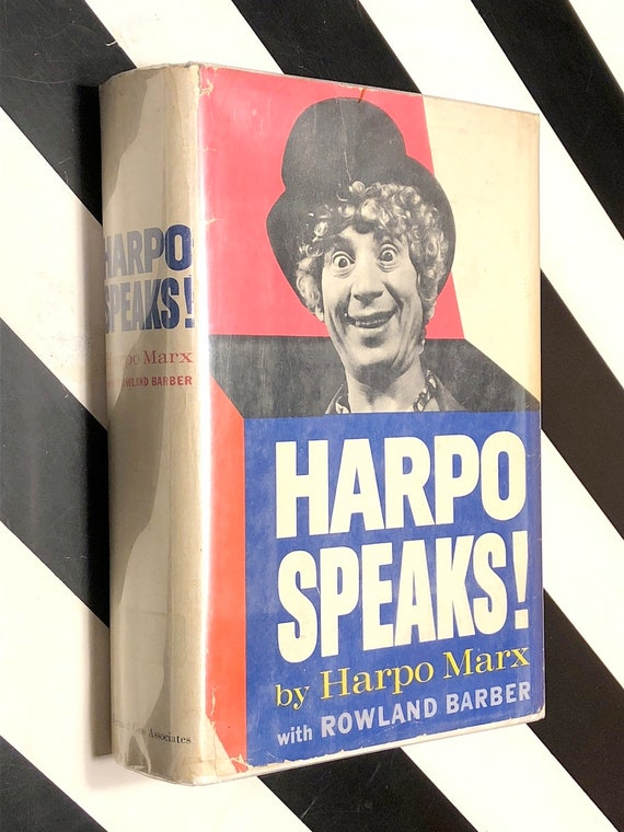 Harpo Speaks by Harpo Marx (1961) first edition book