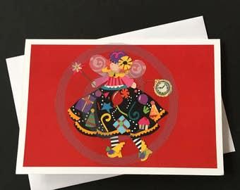 Birthday Card-Birthday Fairy