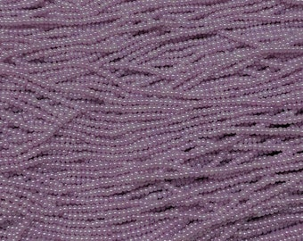 11/0 Lavender Pearl Czech Glass Seed Beads - SB11_185 from Bead Mecca
