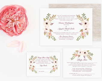 vietnamese wedding invitations wedding invitations bilingual invitations by 8267