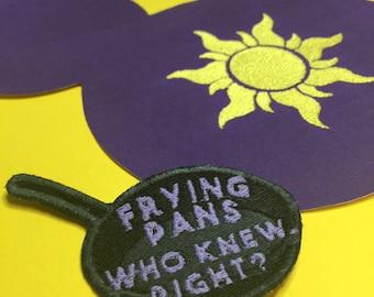 Rapunzel, Flynn Ryder, Tangled: Frying Pan Patch