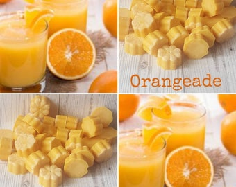 5 ORANGEADE WAX MELTS, Fizzy Orange Wax Melts, Orange Wax Melts, Orangeade Wax Tarts, Orange Pop Wax Melts, Citrus Wax Melt, Fruity Wax Melt