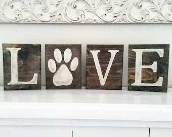 Love paw print tiles, pets, cats, dogs