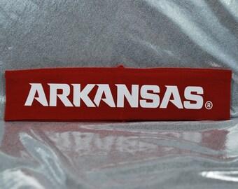 University of Arkansas Collegiate Headband