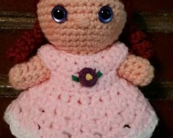 Little Crocheted Doll