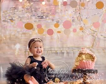 Black Dress for Baby Girls | Black Tutu | 1st Birthday Dress