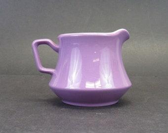 Vintage Nikko Ironstone Orchid Purple 1960s Mod Cream Pitcher (E10280)