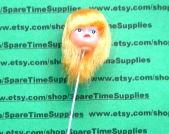 "Darice - Long Hair Doll Head - 1"" - blonde - 1 pc - #12149-2"