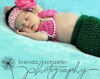 Baby Bikini Top Crochet Pattern