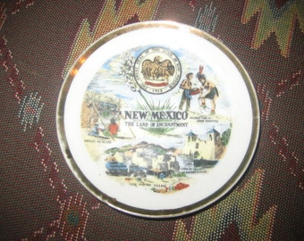 New Mexico Land of Enchantment Small Collector/Souvenir Plate