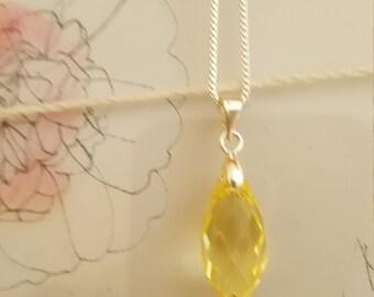 Pineapple Swarovski Pendant Necklace