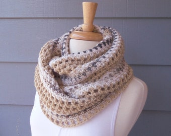 PATTERN S-099 / Infinity Scarf - Crochet Pattern ... 160/145/80 yards
