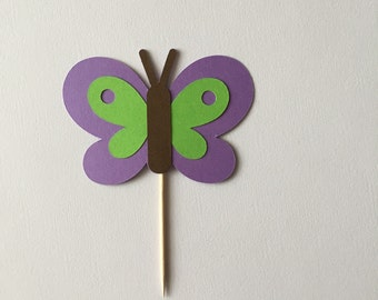 Butterfly cupcake toppers, spring party, birthday party, shower