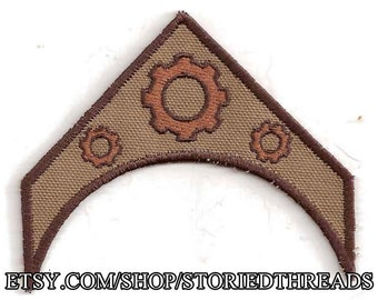 Steampunk Patch, Military Insignia, Custom Made