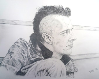 Joe Strummer, The Clash - Giclee Fine Art Print