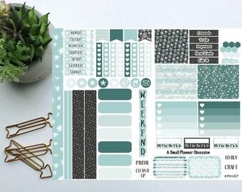 Winter Wonderland happy planner mini stickers, Winter stickers, Mini happy planner stickers, #mini08, mini stickers
