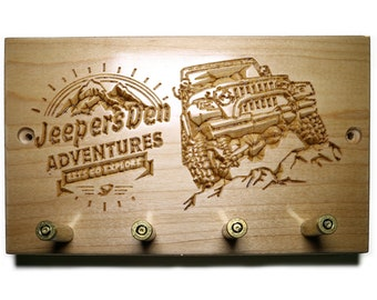 Jeep Keychain Holder - JD Adventures
