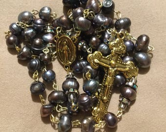 Rosary with Miraculous Medal