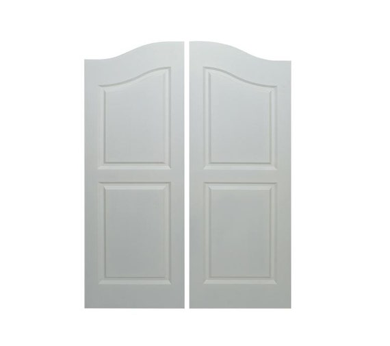 Saloon Doors | Cafe Doors Primed Fits Any 32  Door Opening / 2u0027 8  Door Opening x 42  Tall Includes All Hardware from TheHomeDecorStoreInc on Etsy Studio  sc 1 st  Etsy Studio & Saloon Doors | Cafe Doors Primed Fits Any 32