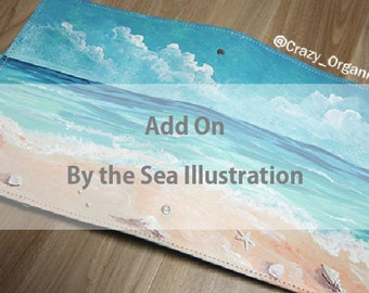 By the sea illustration