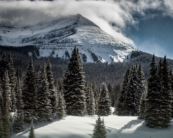 Mountain Photography, Mountain Range Photo, Forest Print, Colorado Photography, Landscape Print, Nature Photography, Colorado Wall Art