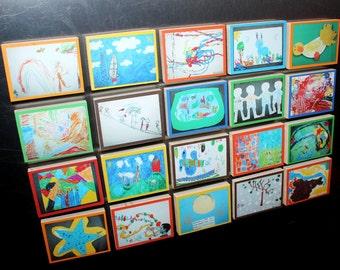 Set of 20 Kid's Memory Magnets MM0006