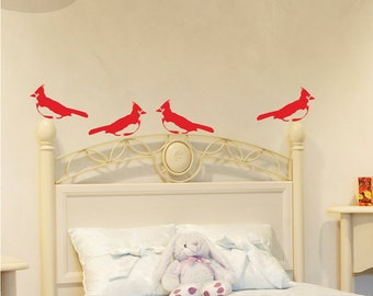 Cardinals - Wall Vinyl Decal