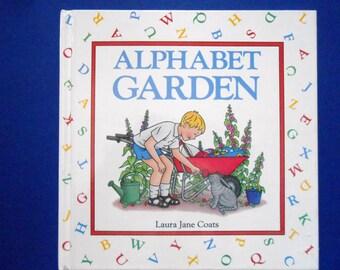 Alphabet Garden, a Vintage Children's ABC Book