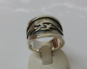 Ring Silver 925 friendship 18.8 mm SR615