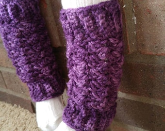 Crochet baby leg warmers, 12-18 months, made to order