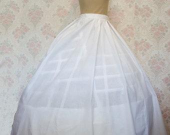 Crinoline, Victorian Wirecage Petticoat perfect for Scarlet O Hara / Civil War Era/ Wedding