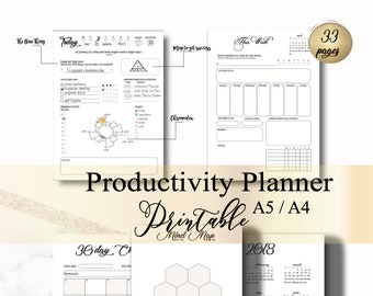 Productive Planner (minimalism)