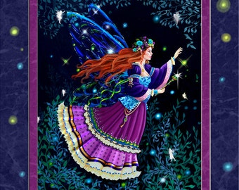 fairy queen art print. queen Titania art print. This dark fairy illustration is called Titania because she is the Queen of the fairies