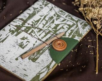 Writer Gift, Travel Journal, Engraved Journal, Travelers Notebook, Small Journal Diary, Travel Gift, Memory Book, Custom Journal