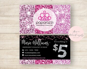 Paparazzi business cards | Etsy